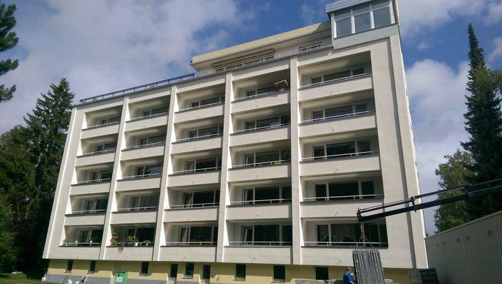 Fassaden und Dachsanierung
