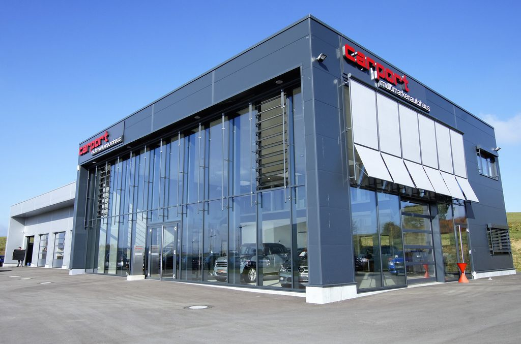 Neubau Autohaus