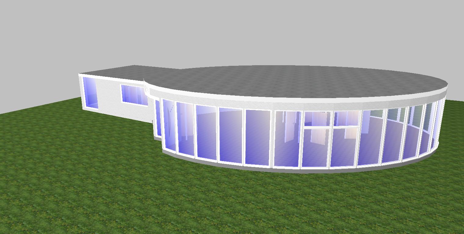 Berechnung Neubau - grafische Erfassung